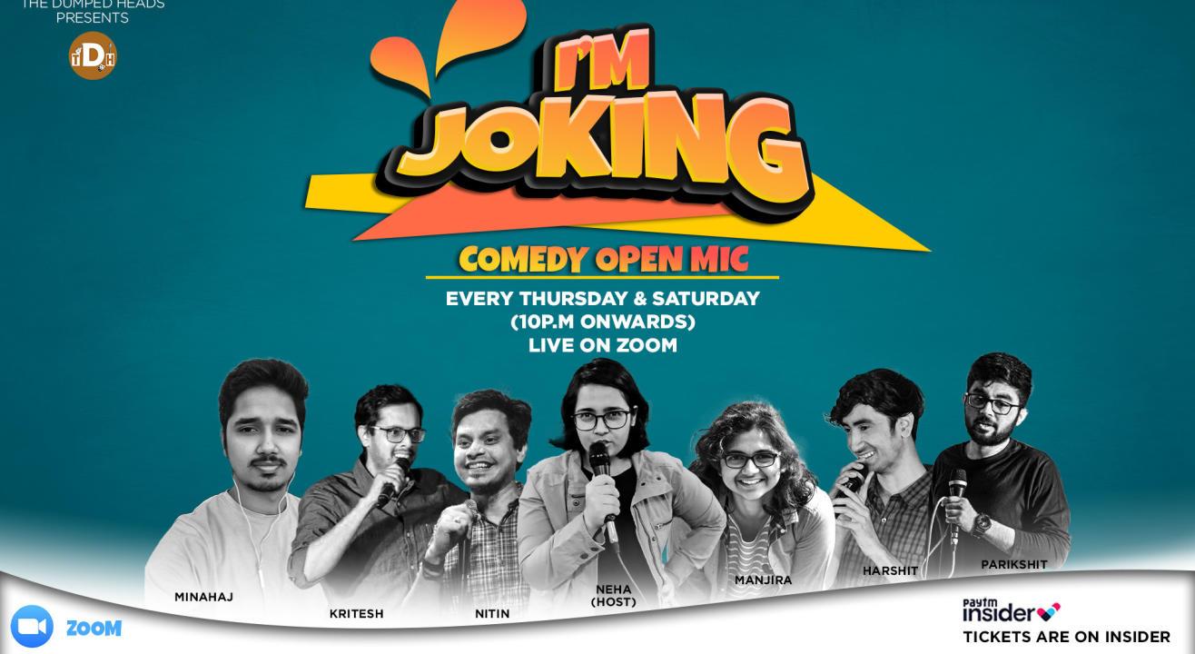 I'm Joking (Comedy Open Mic)