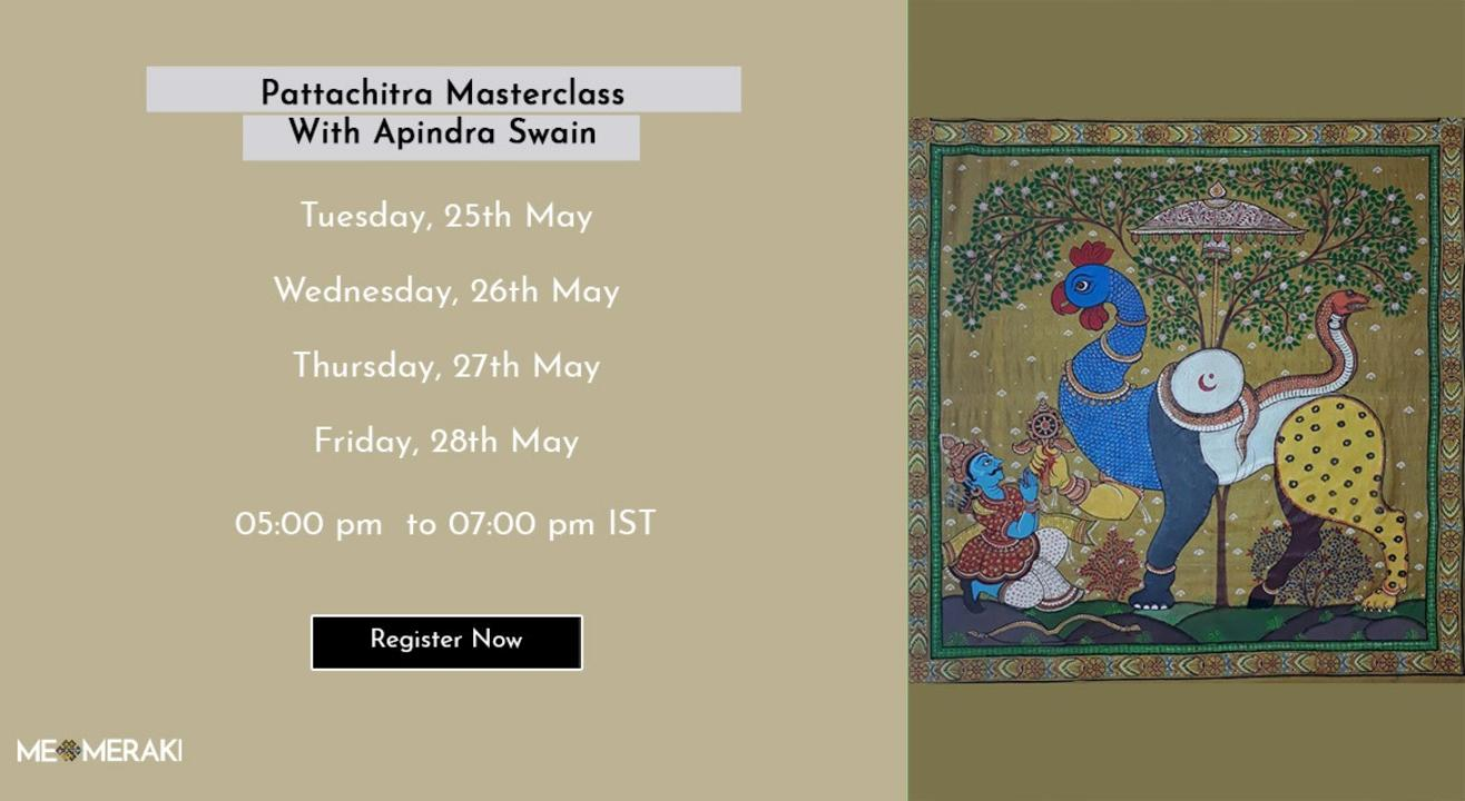 ONLINE PATTACHITRA MASTERCLASS WITH APINDRA SWAIN