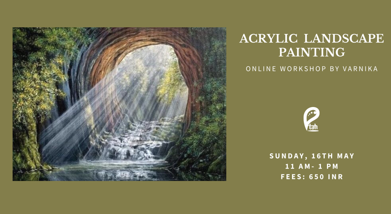 Acrylic Landscapes Painting Online Workshop