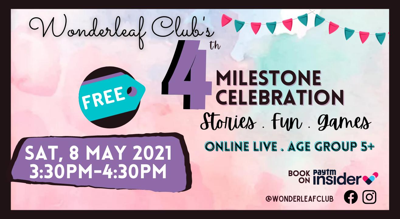 Wonderleaf Club Fourth Milestone Free Online Event
