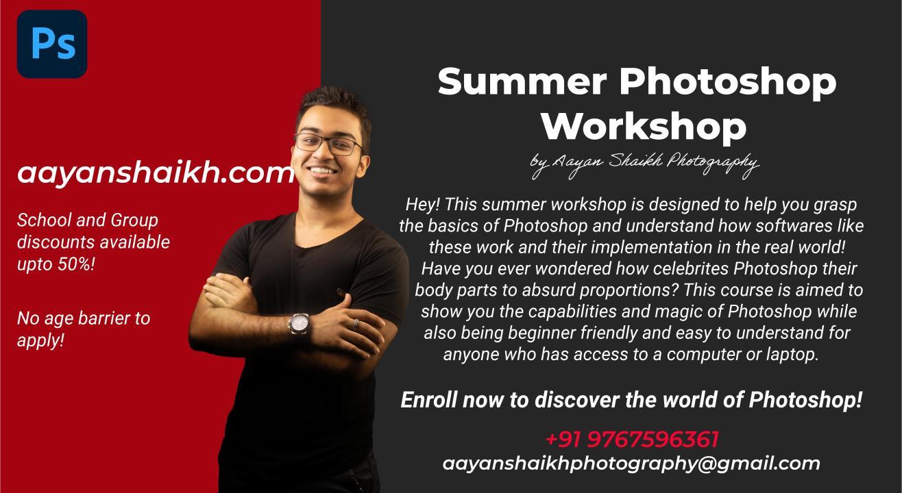 Introductory Photoshop Workshop!