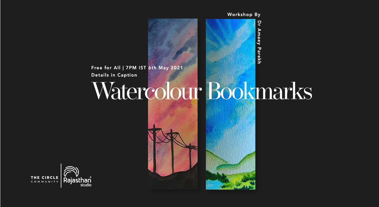 Watercolour Bookmark Workshop by The Circle Community