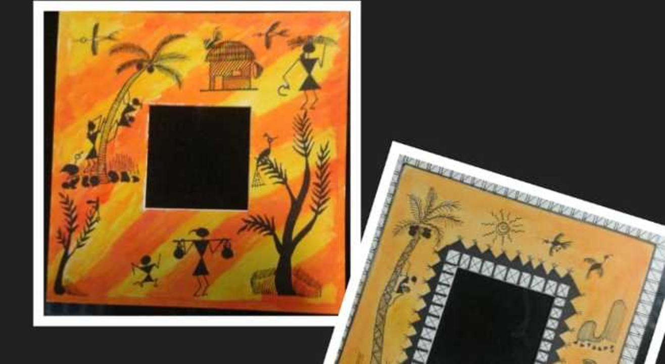 Learn Step by Step Warli Painting on zoom