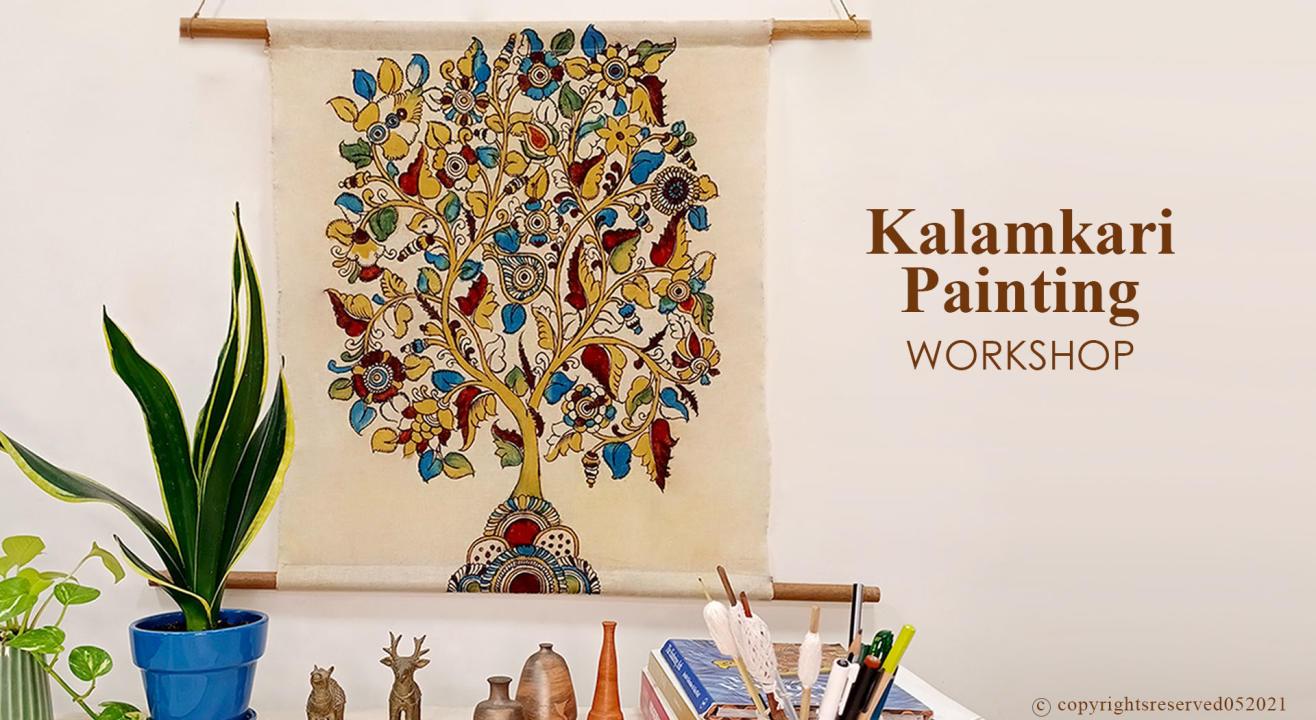 Traditional Kalamkari (Natural Dyes)