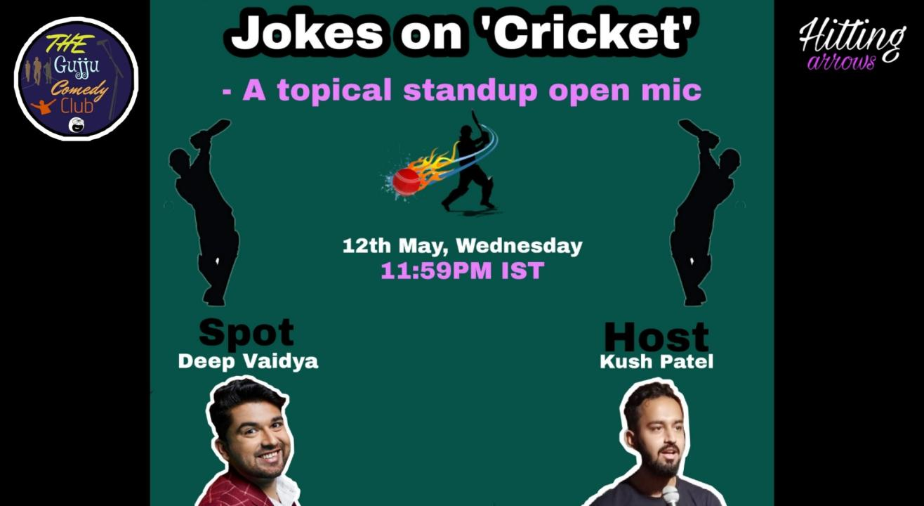 Jokes on Cricket: Topical Stand-up