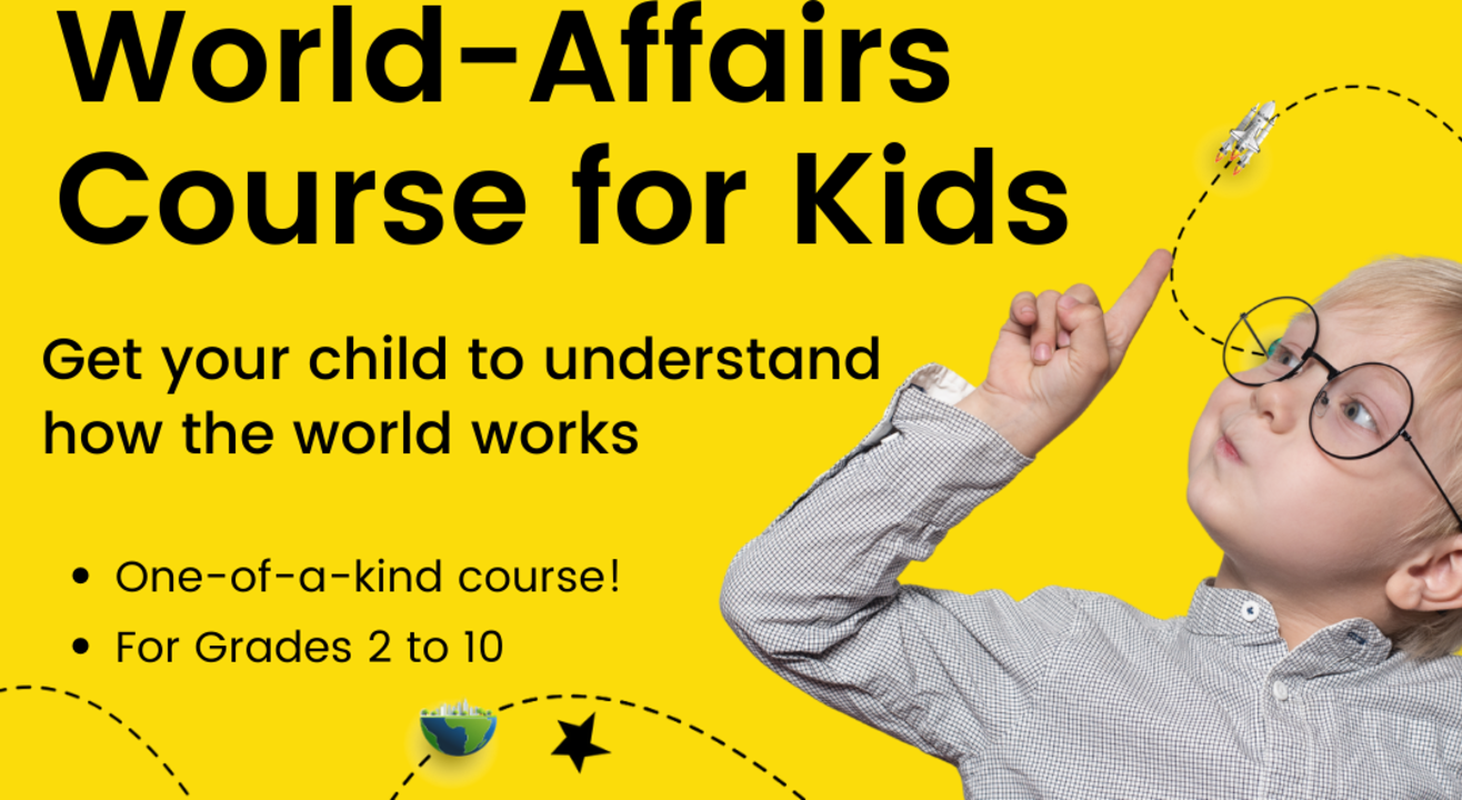 World Affairs Course for Kids from Zebra Eye - 12 sessions