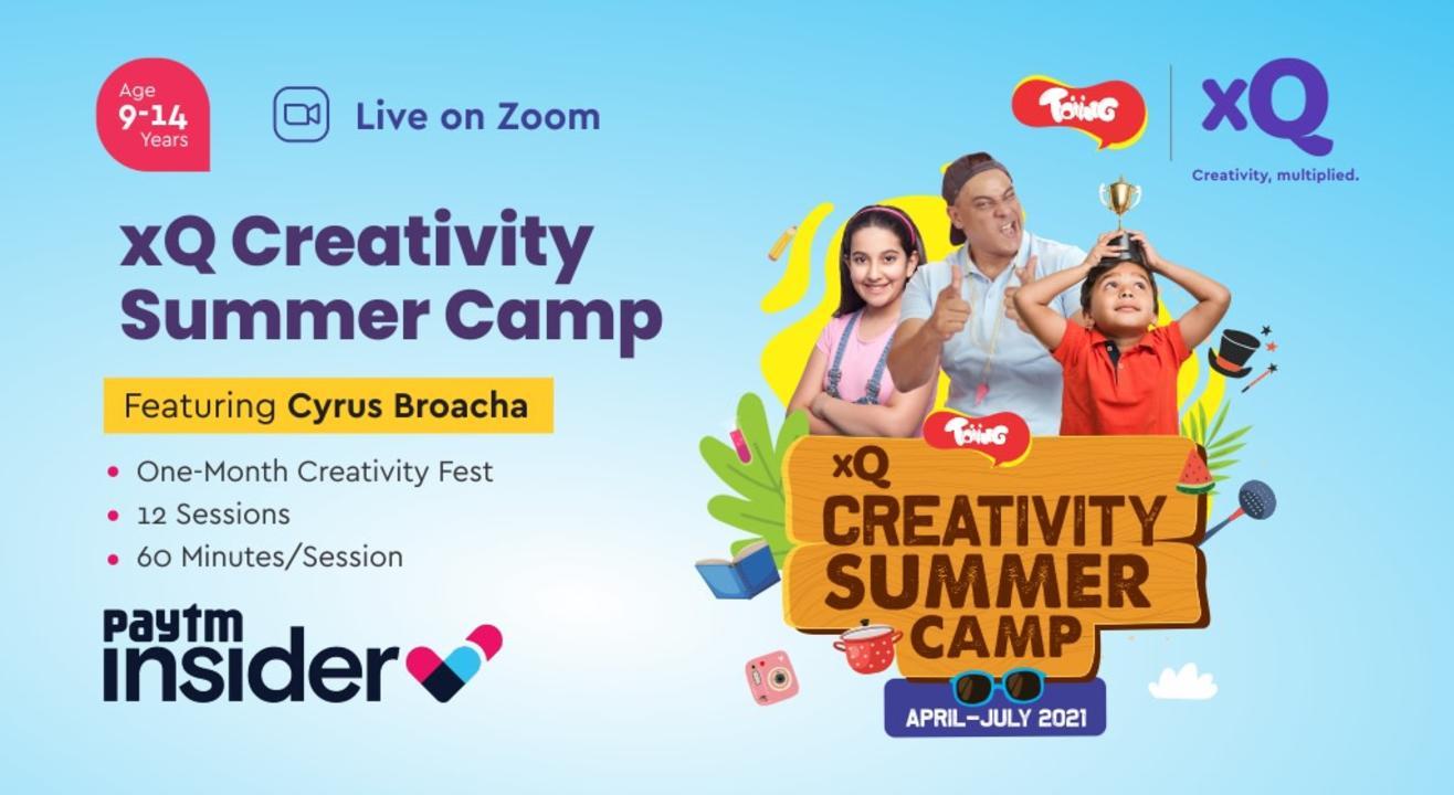 xQ Creativity Summer Camp | One-Month Online Creativity Fest