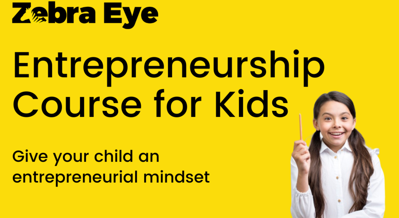 Entrepreneurship course for kids in Grades 2 to 10 - 24 sessions