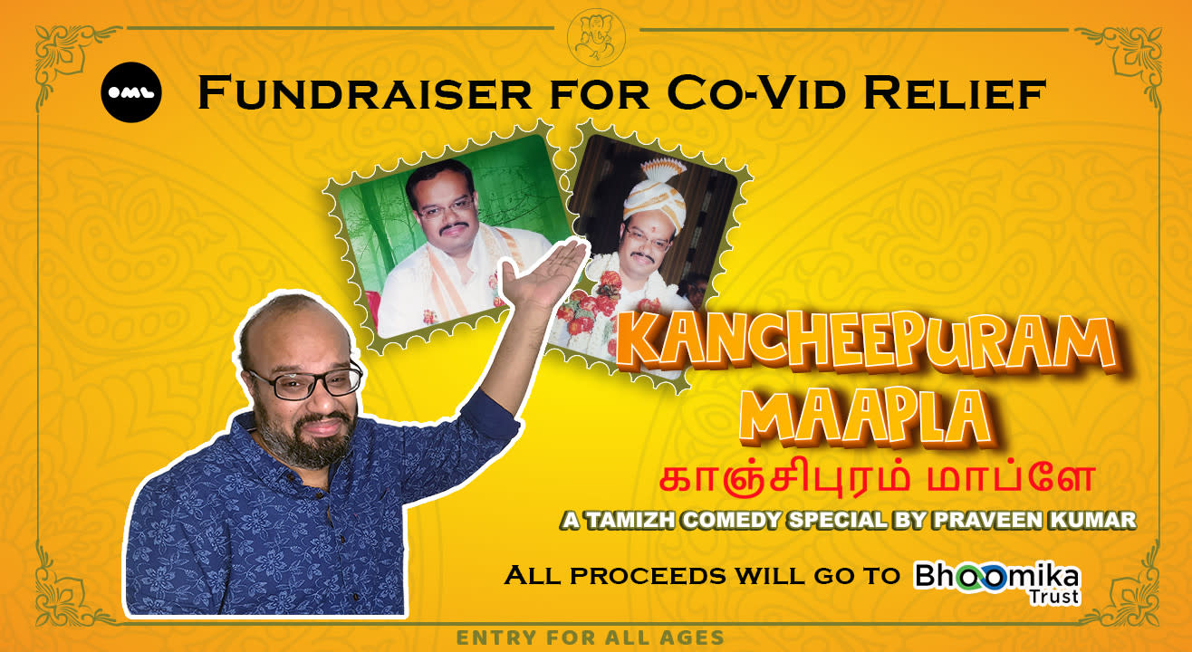 Kancheepuram Maapla - Fundraiser for Co-Vid relief