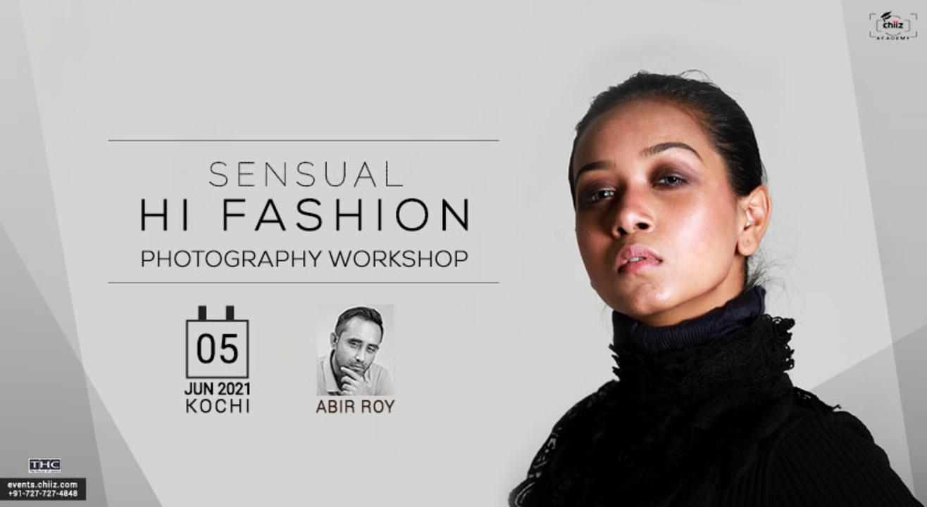 SENSUAL FASHION PHOTOGRAPHY WORKSHOP BY ABIR ROY- Kochi
