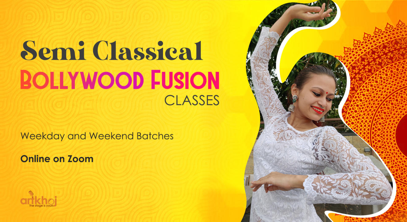 Semi Classical Bollywood Fusion Classes - Online