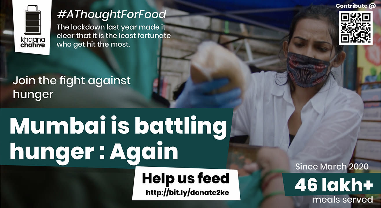 Fight Against Hunger | Khaana Chahiye