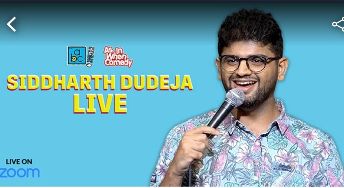 Siddharth Dudeja Live