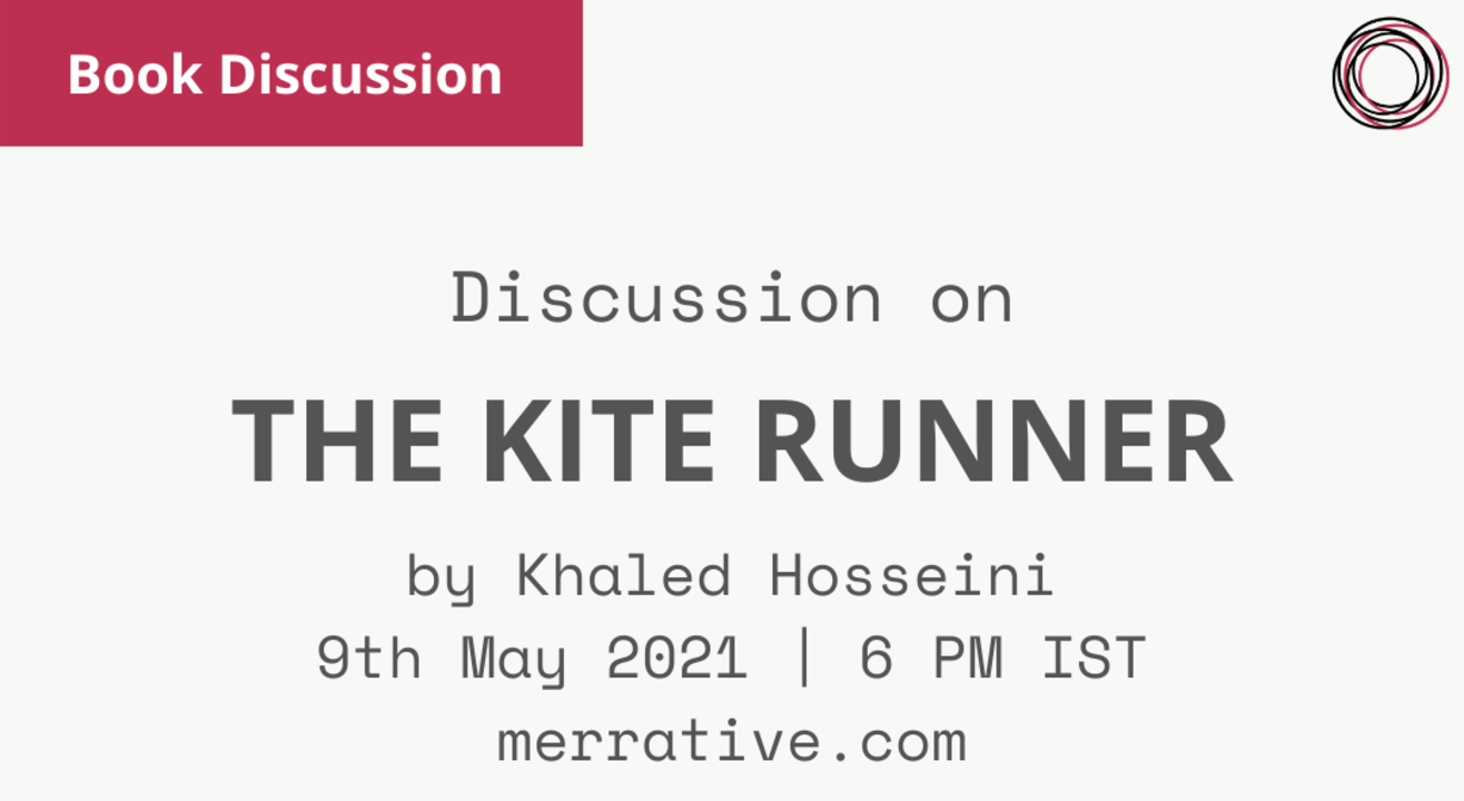 Book Discussion: The Kite Runner by Khaled Hosseini