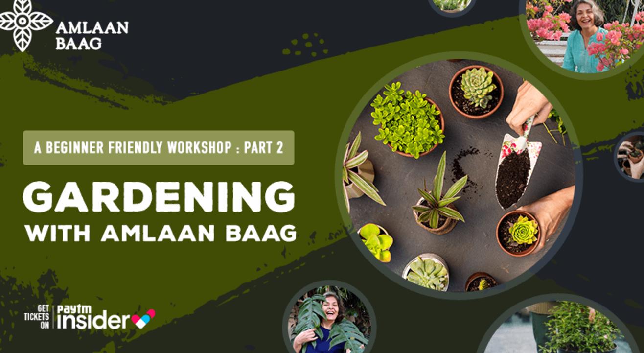 Gardening with Amlaan Baag - A Beginner Friendly Workshop Part 2