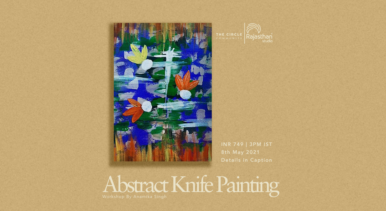 Abstract Knife Painting Workshop by The Circle Community