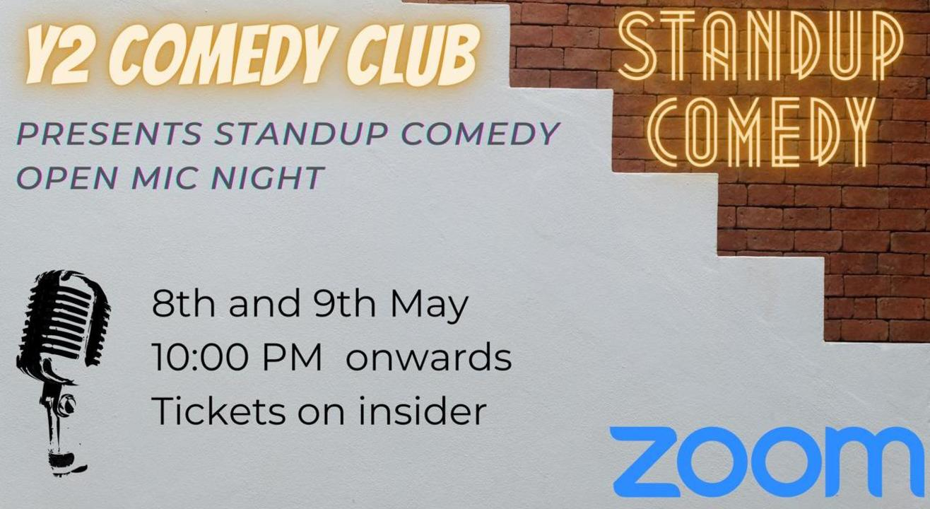 Standup Comedy Open-Mic-Night | Y2 Comedy Club