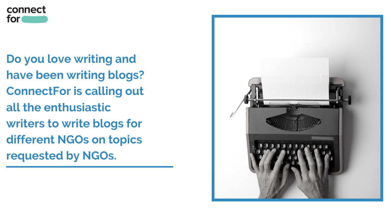 Volunteer to write about socially relevant topics for NGOs