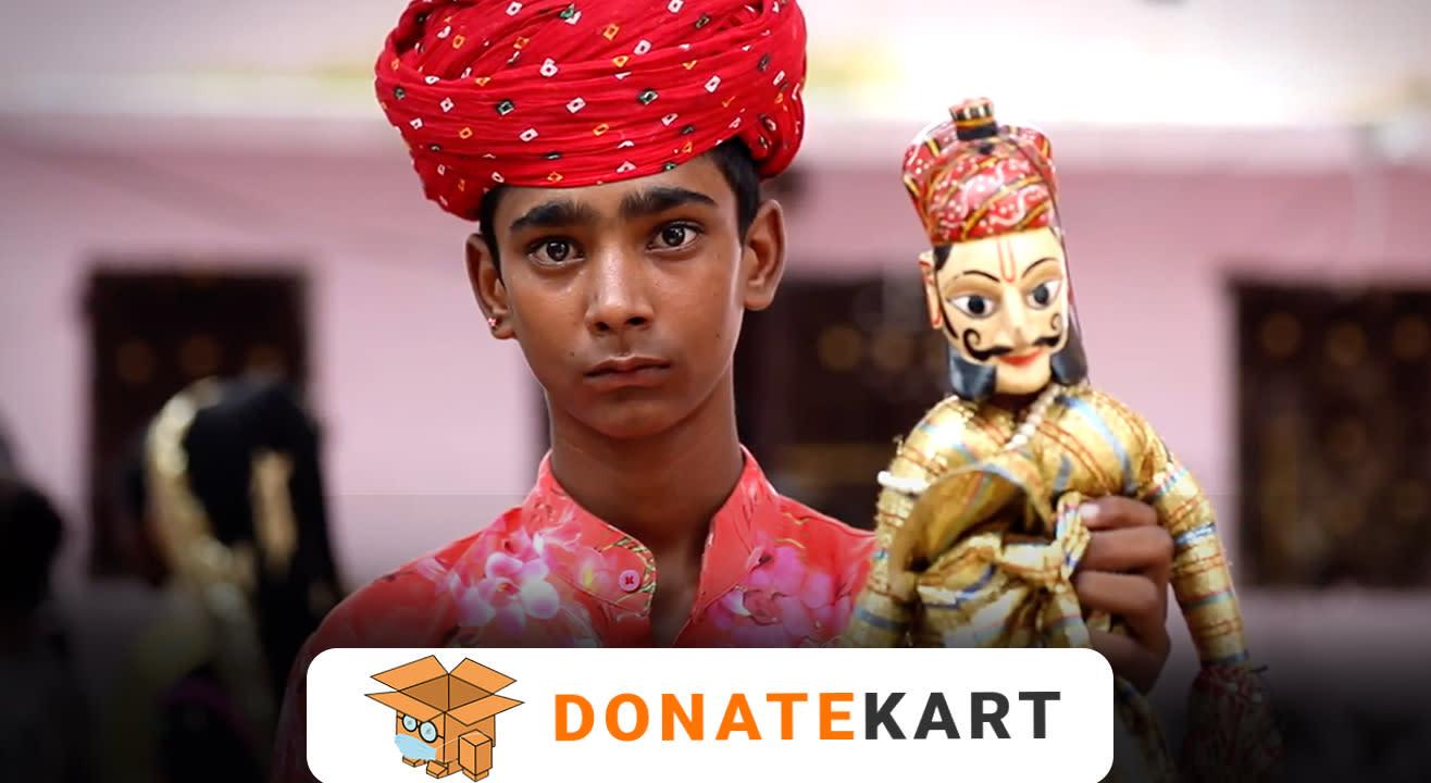 Donatekart | Help support the Rajasthan Folk Artists