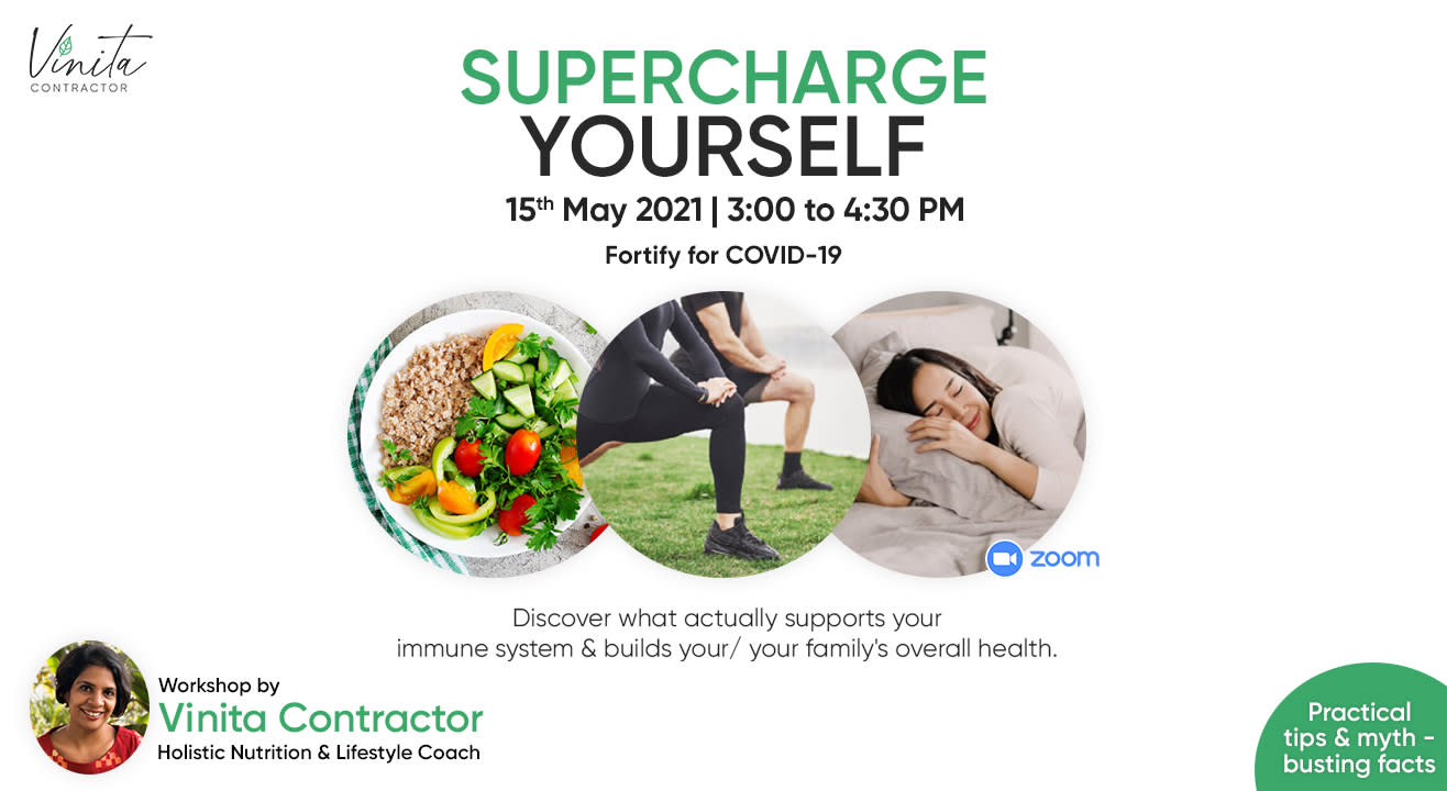 SUPERCHARGE YOURSELF - Fortify for Covid-19