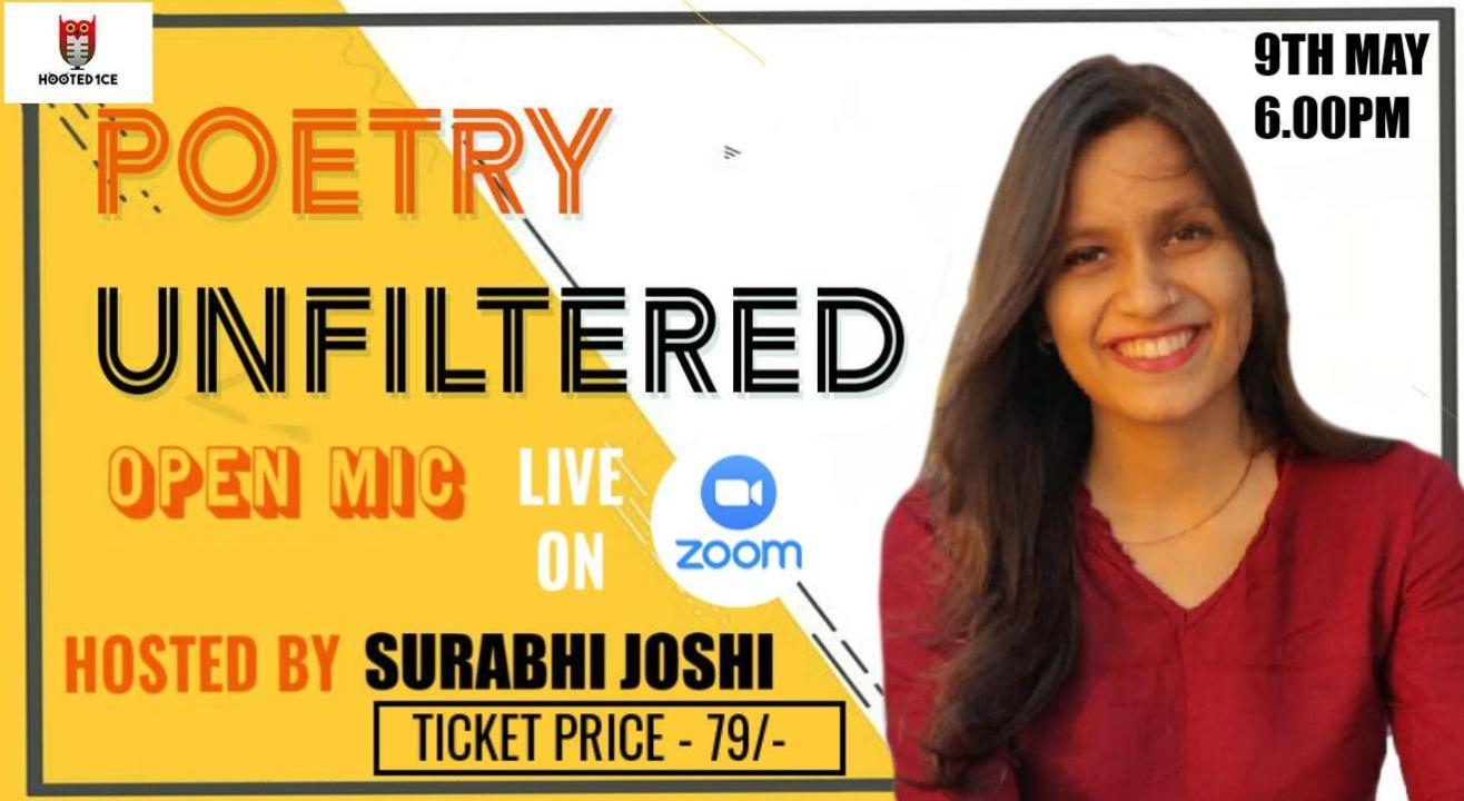 Poetry Unfiltered Open Mic ft Surabhi Joshi