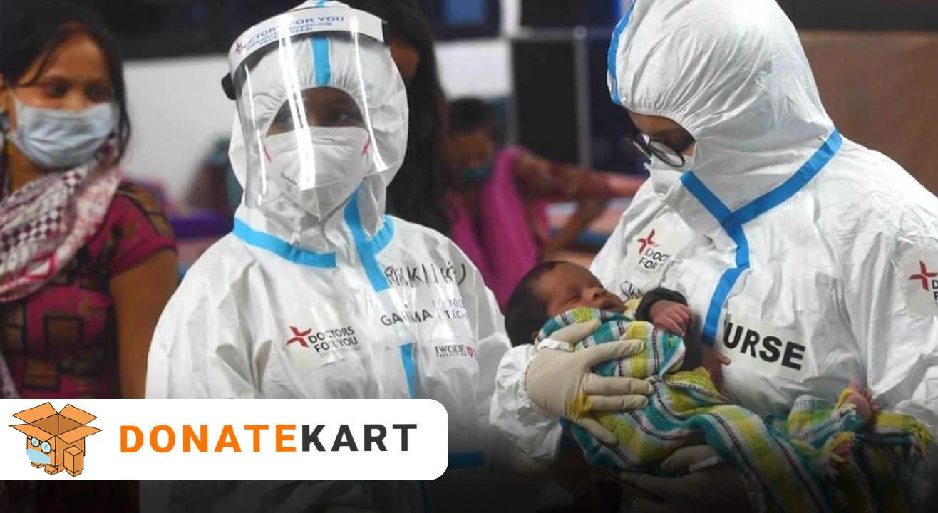 Donatekart | Oxygen supplies to Covid Infected Patients