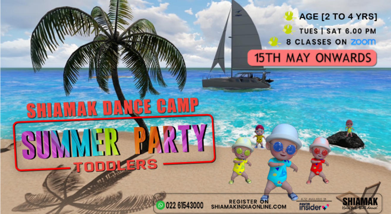 SHIAMAK Dance For Toddlers (2 to 4 years)