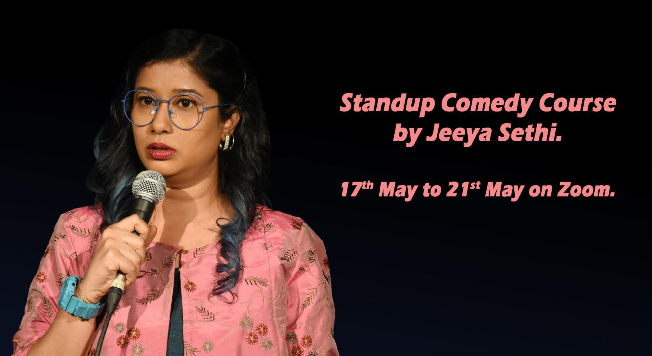 Stand-up Comedy Course by Jeeya Sethi