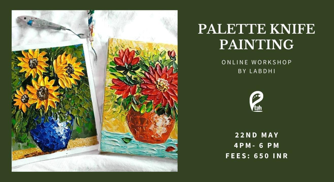 Palette Knife Painting Online Workshop