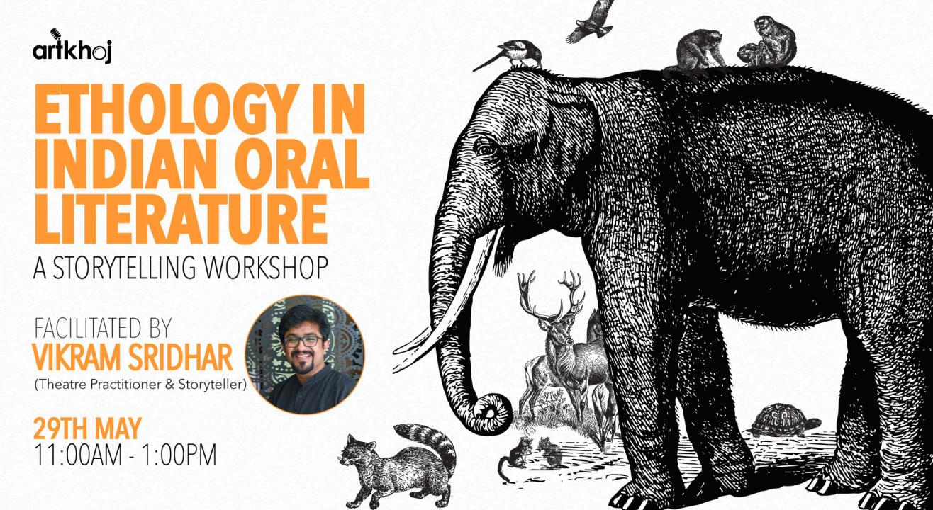 Ethology in Indian Oral Literature - Online storytelling Workshop