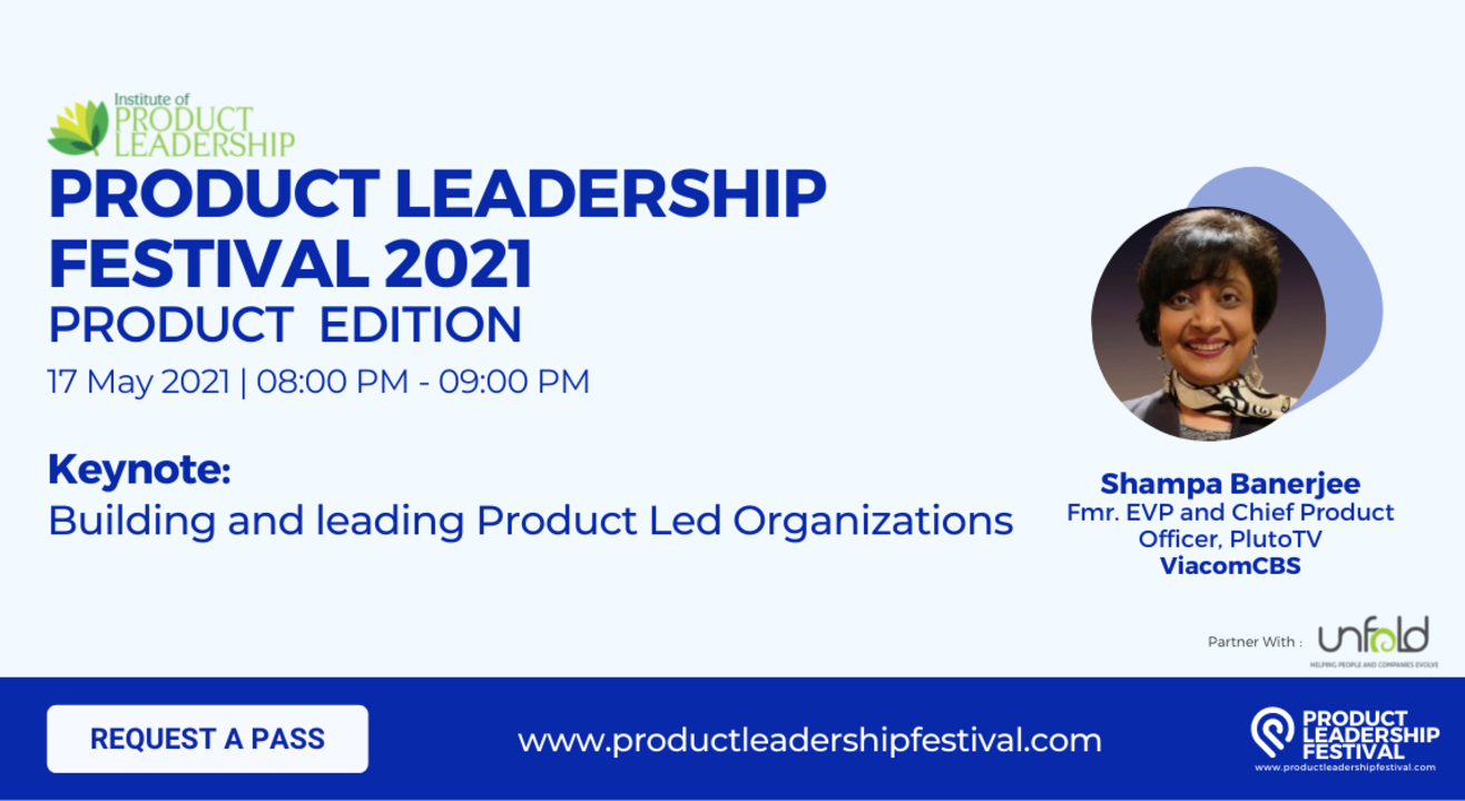 Building and leading Product Led Organizations