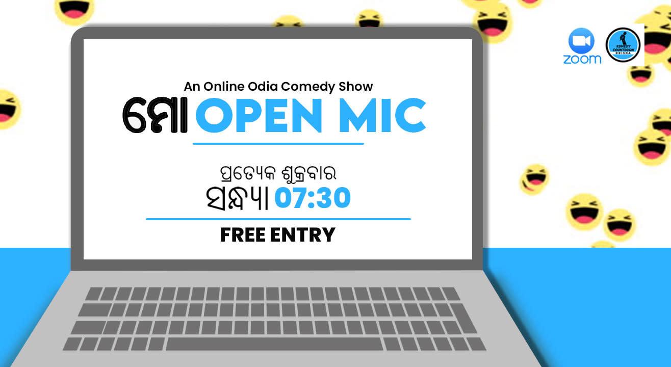 Mo Open Mic - An Online Comedy Show