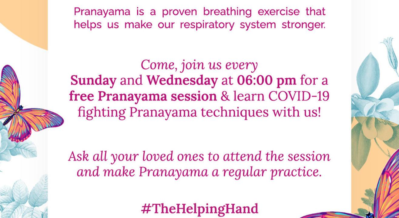 FREE Pranayama & Meditation Workshop
