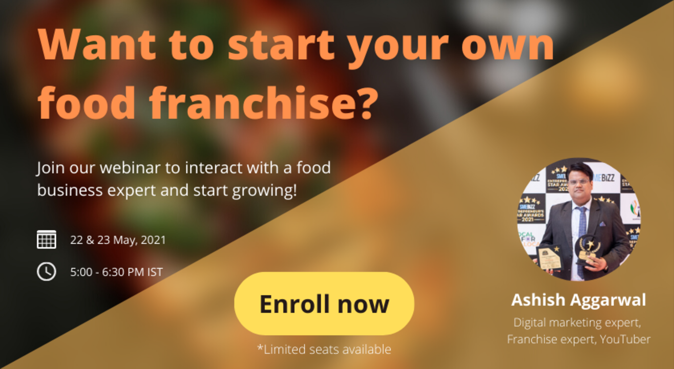 How to convert your food business into a franchise - iVyoma   Ashish Aggarwal
