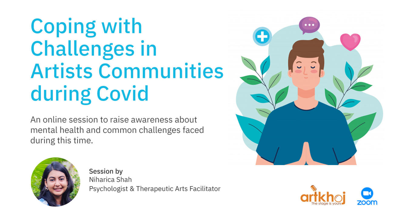 Coping with Challenges in Artists Communities during Covid