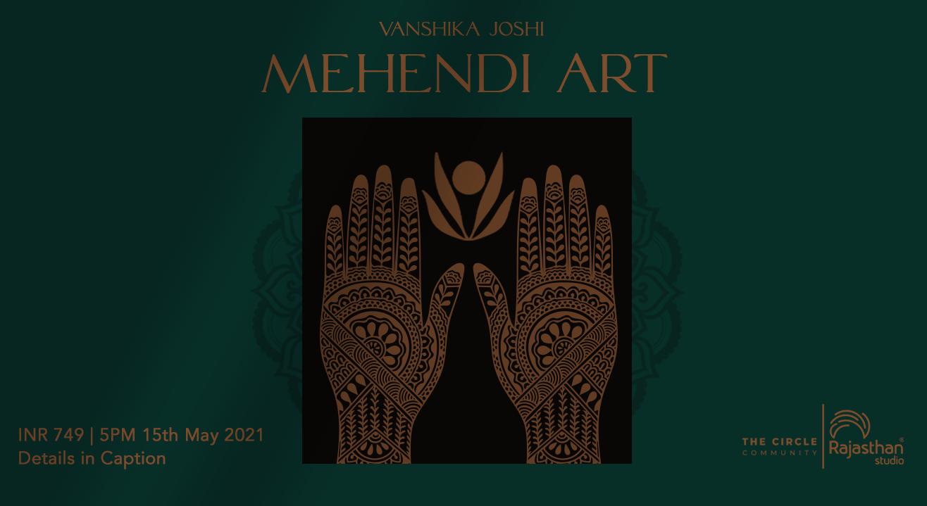 Mehendi Art Workshop by The Circle Community