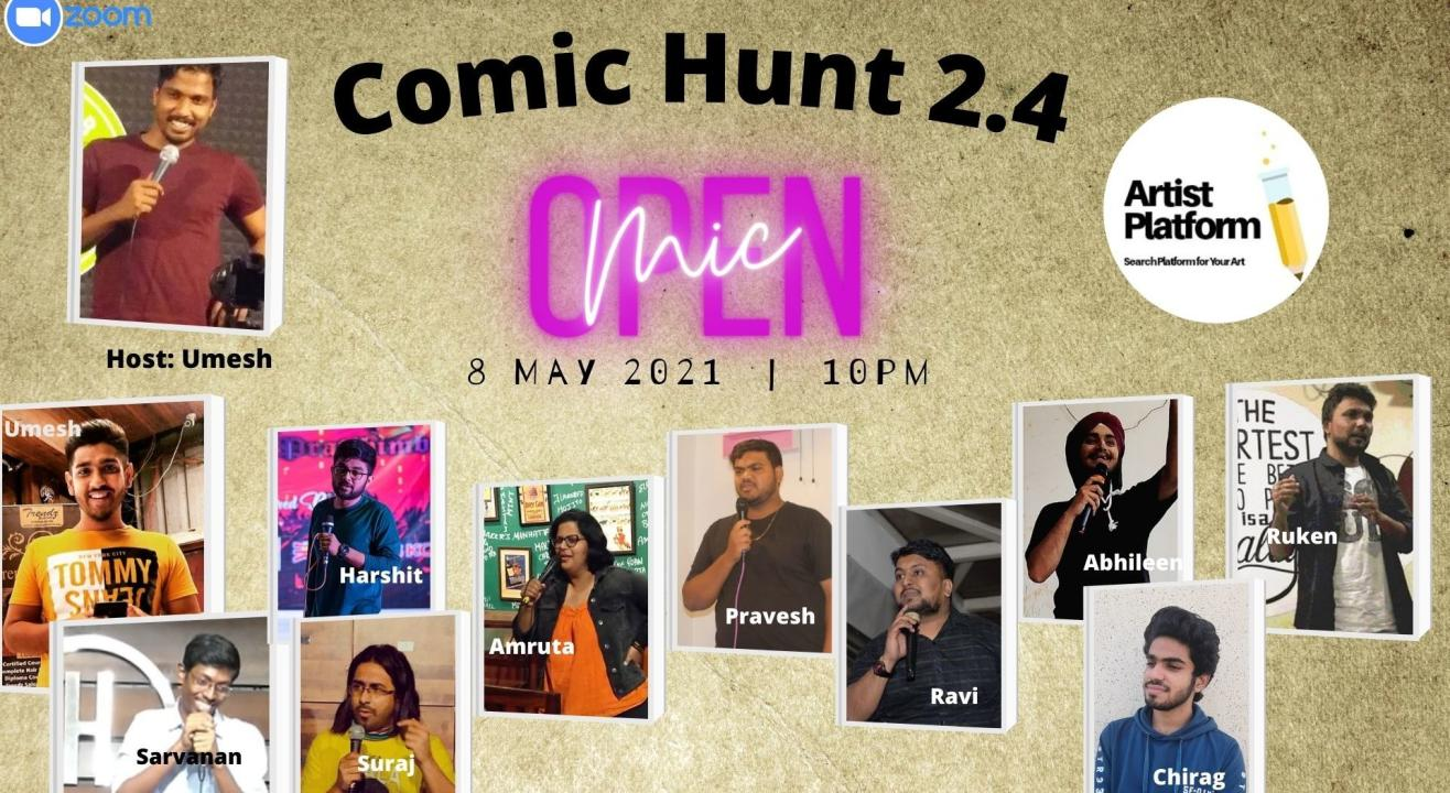 Comic Hunt 2.4 - Competative Stand Up Comedy Show