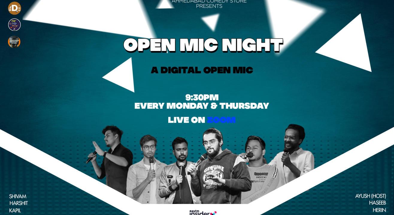 Open Mic Night (Ahemdabad Comedy Store)