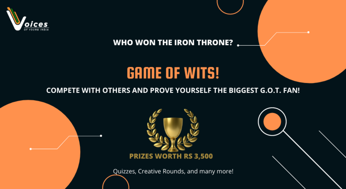 GAME OF WITS- Community event on GAME OF THRONES