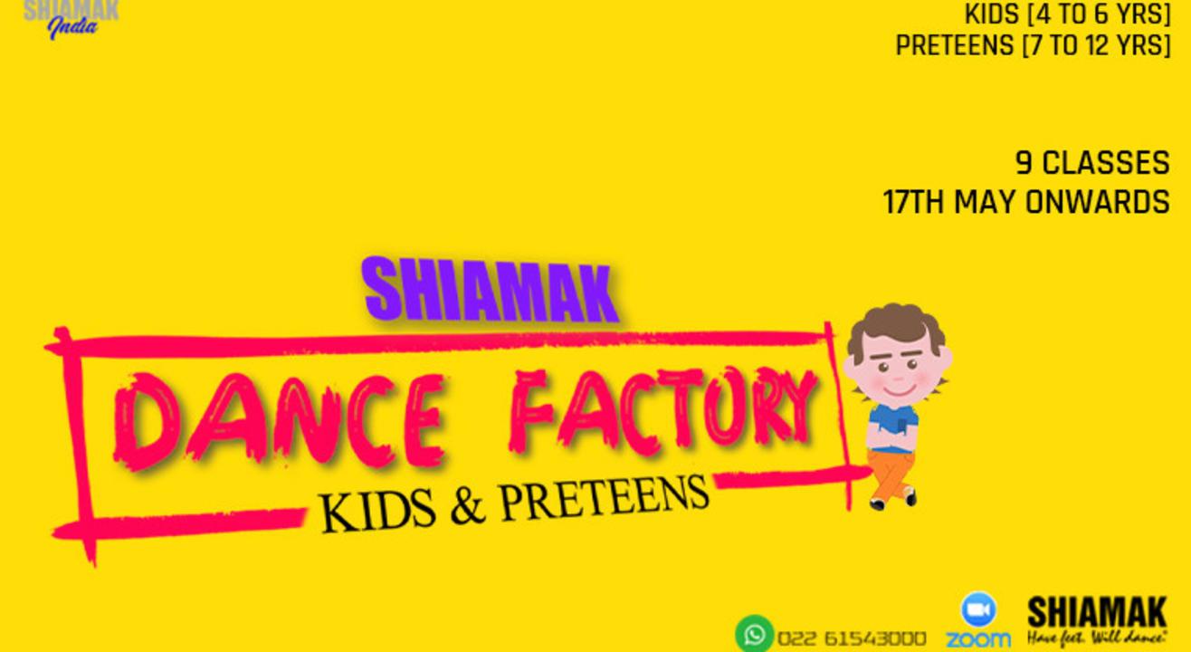 SHIAMAK Dance Factory for Kids (4-6 years)