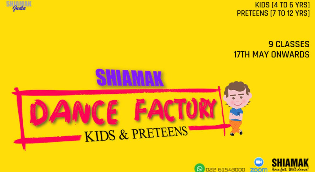 SHIAMAK Dance Factory for Preteens (7-12 years)