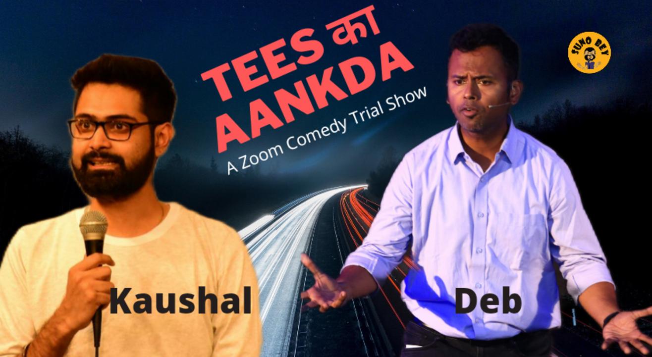 Tees Ka Aankda| Zoom Comedy Show | Fund Raiser for Hemkunt Foundation