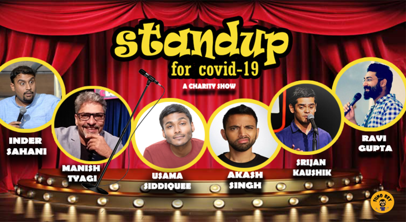 Stand up for Covid-19 l A charity show