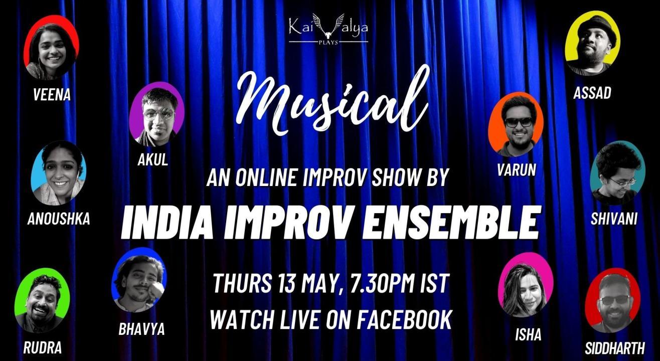 Musical - An Online Improv Show by India Improv Sxene