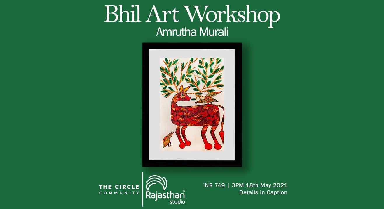 Bhil Art Workshop by The Circle Community
