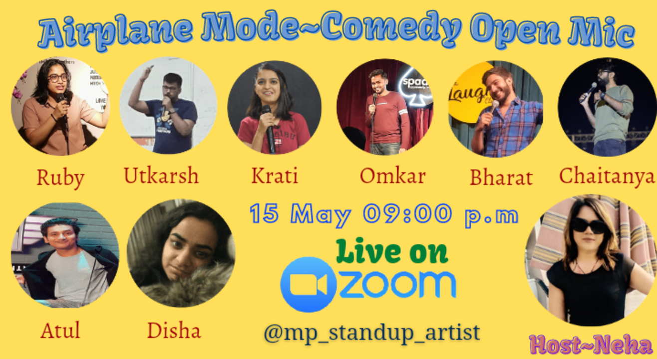 Airplane Mode~Comedy Open Mic