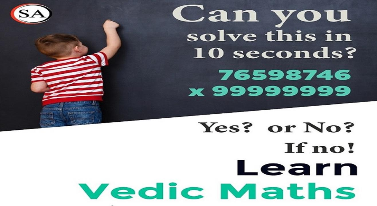 VEDIC MATHS: Free Demo Session for Kids 10+