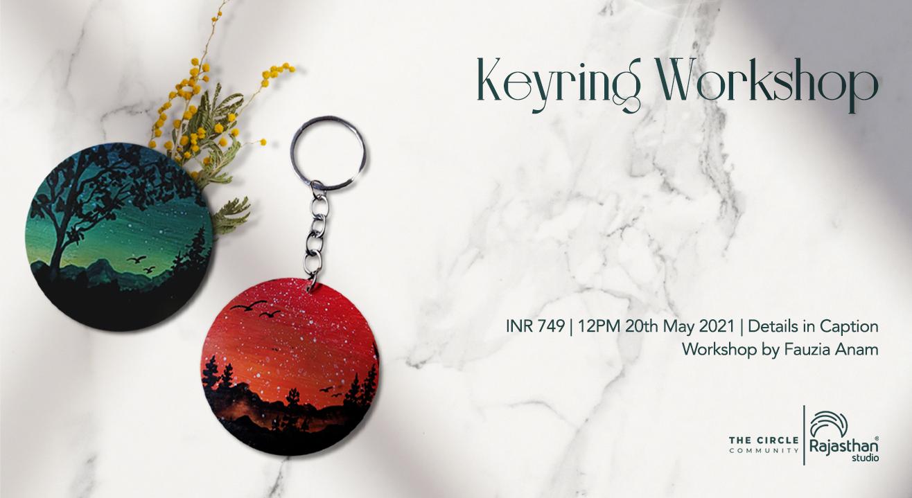 Keyring Workshop by The Circle Community