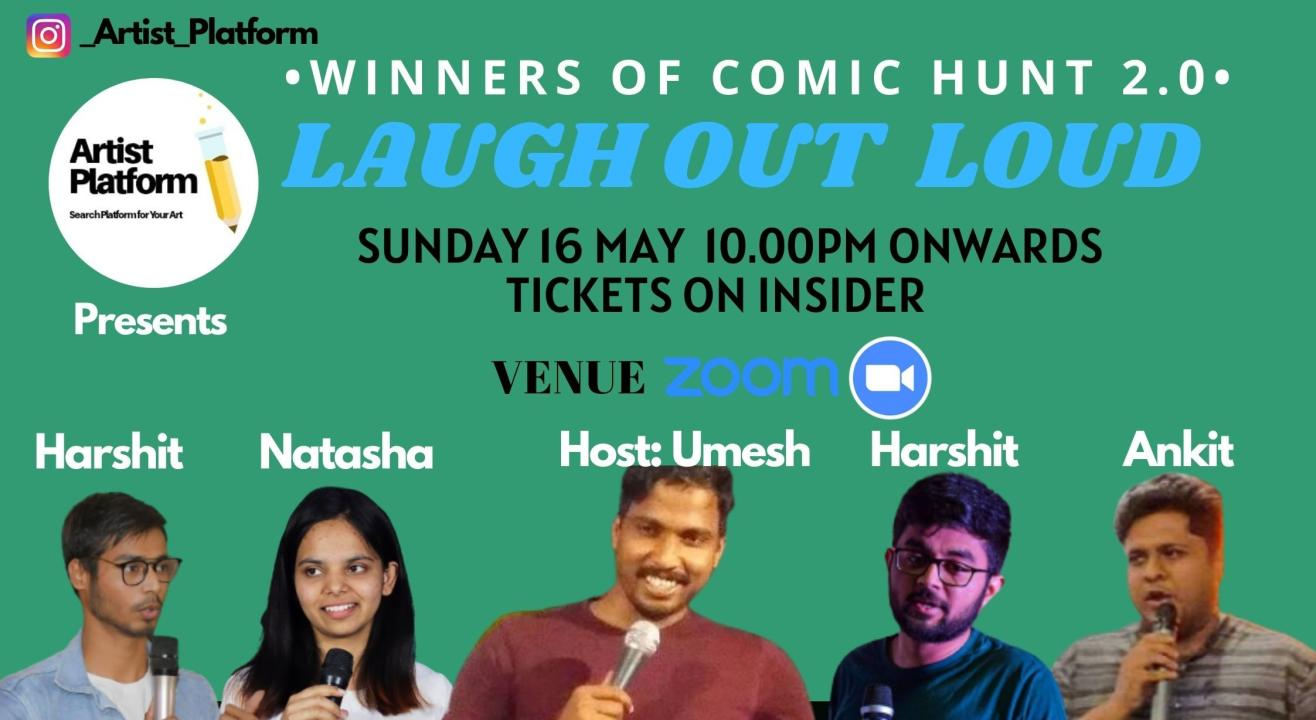 Laugh It Out - Winners Of Comic Hunt 2