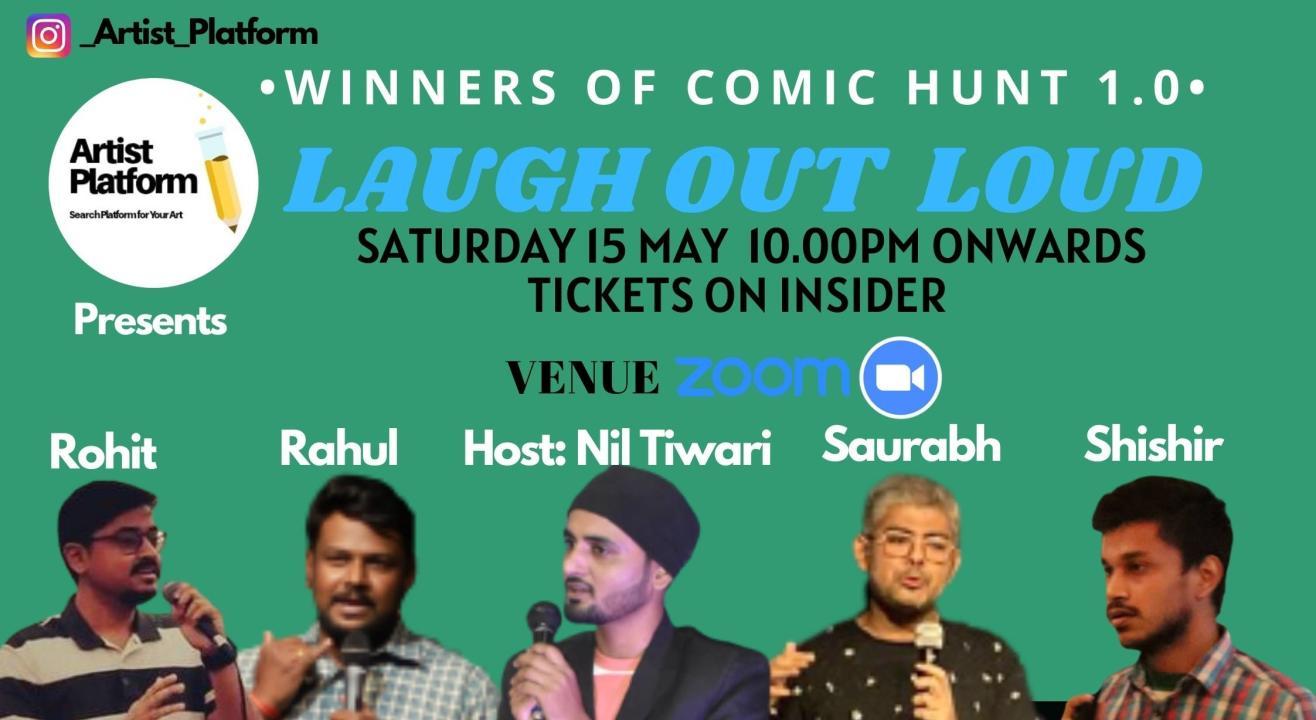 Laugh Out Loud - Winners Of Comic Hunt 1